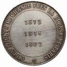 Photo numismatique  JETONS PERIODE MODERNE PROFESSIONS JUDICIAIRES Agents de Change de Paris Jeton.