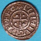 Photo numismatique  MONNAIES CAROLINGIENS PEPIN II, roi d'Aquitaine (839-852)  Denier d'atelier indéterminé.