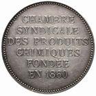 Photo numismatique  JETONS PERIODE MODERNE INDUSTRIES et CORPORATIONS Chambre syndicale des produits chimiques Jeton.