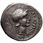 Photo numismatique  MONNAIES RÉPUBLIQUE ROMAINE POMPÉE LE GRAND (79-45)  Denier frappé en Espagne, vers 46/45.