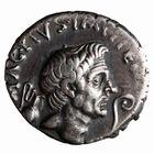 Photo numismatique  MONNAIES REPUBLIQUE ROMAINE POMPÉE LE GRAND (79-45)  Denier frappé en Sicile vers 42/40.