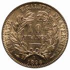 Photo numismatique  MONNAIES MODERNES FRANÇAISES 3ème REPUBLIQUE (4 septembre 1870-10 juillet 1940)  10 francs or.