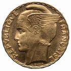 Photo numismatique  MONNAIES MODERNES FRANÇAISES 3ème REPUBLIQUE (4 septembre 1870-10 juillet 1940)  100 francs or de Bazor.