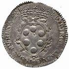Photo numismatique  MONNAIES MONNAIES DU MONDE ITALIE MODENE, Cesar d'Este et Virginia de Medicis (1598-1615) 6 bolognoni.