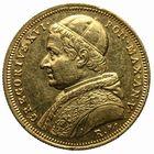 Photo numismatique  MONNAIES MONNAIES DU MONDE ITALIE SAINT-SIEGE, Grégoire XVI (1831-1846) 10 scudi or de 1835, frappé à Rome.