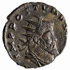Photo numismatique  MONNAIES EMPIRE ROMAIN POSTUME (259-268) Frappe d'Auréole à Milan (267-268) Antoninien frappé à Milan, 267-268.