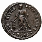 Photo numismatique  MONNAIES EMPIRE ROMAIN HELENE (mère de Constantin le Grand)  Follis frappé à Siscia en 326-327.