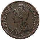 Photo numismatique  MONNAIES MODERNES FRANÇAISES LE DIRECTOIRE (27 octobre 1795-10 novembre 1799)  2 décimes.