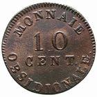 Photo numismatique  MONNAIES MODERNES FRANÇAISES NAPOLEON Ier, empereur (18 mai 1804- 6 avril 1814) Siège d'Anvers (février à mai 1814) 10 centimes.