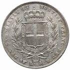 Photo numismatique  MONNAIES MONNAIES DU MONDE ITALIE SAVOIE-SARDAIGNE, Charles Albert (1831-1849) 5 lire.