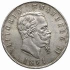 Photo numismatique  MONNAIES MONNAIES DU MONDE ITALIE SAVOIE-SARDAIGNE, Victor Emmanuel II, roi d'Italie (1861-1878) 5 lire.