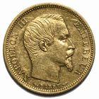 Photo numismatique  MONNAIES MODERNES FRANÇAISES NAPOLEON III, empereur (2 décembre 1852-1er septembre 1870)  10 francs or petit module.