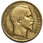Photo numismatique  MONNAIES MODERNES FRANÇAISES LOUIS-NAPOLEON BONAPARTE Prince-Président (2 décembre 1851-2 décembre 1852)  20 francs or.