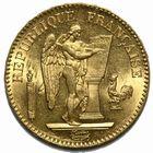 Photo numismatique  MONNAIES MODERNES FRANÇAISES 3ème REPUBLIQUE (4 septembre 1870-10 juillet 1940)  20 francs or.