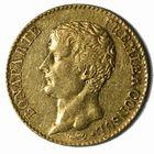 Photo numismatique  MONNAIES MODERNES FRANÇAISES BONAPARTE, 1er consul (24 décembre 1799-18 mai 1804)  20 francs or.