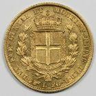 Photo numismatique  MONNAIES MONNAIES DU MONDE ITALIE SAVOIE-SARDAIGNE, Charles Albert (1831-1849) 20 lire or.