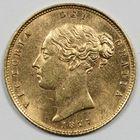 Photo numismatique  MONNAIES MONNAIES DU MONDE ANGLETERRE VICTORIA (1837-1901) Demi souverain or.