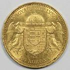 Photo numismatique  MONNAIES MONNAIES DU MONDE HONGRIE FRANCOIS-JOSEPH (1848-1916) 20 couronnes or.