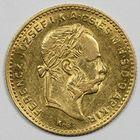 Photo numismatique  MONNAIES MONNAIES DU MONDE HONGRIE FRANCOIS-JOSEPH (1848-1916) 4 florins ou 10 francs or.
