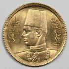 Photo numismatique  MONNAIES MONNAIES DU MONDE GYPTE FAROUK (1937-1952) 20 piastres or.