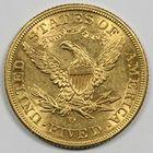 Photo numismatique  MONNAIES MONNAIES DU MONDE ÉTATS-UNIS d'AMÉRIQUE du NORD Depuis 1776 5 dollars or.