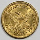 Photo numismatique  MONNAIES MONNAIES DU MONDE ÉTATS-UNIS d'AMÉRIQUE du NORD Depuis 1776 2 1/2 dollars or.