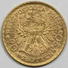 Photo numismatique  MONNAIES MONNAIES DU MONDE POLOGNE République (après 1923) 20 zloty or.
