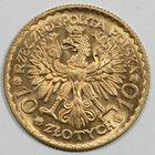 Photo numismatique  MONNAIES MONNAIES DU MONDE POLOGNE République (après 1923) 10 zloty or.