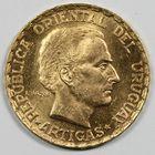 Photo numismatique  MONNAIES MONNAIES DU MONDE URUGUAY République (depuis 1828) 5 pesos or.