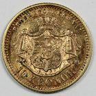 Photo numismatique  MONNAIES MONNAIES DU MONDE SUEDE OSCAR II (1872-1907) 10 couronnes or.