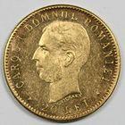 Photo numismatique  MONNAIES MONNAIES DU MONDE ROUMANIE CAROL Ier (1881-1914) 20 lei or.