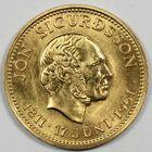 Photo numismatique  MONNAIES MONNAIES DU MONDE ISLANDE République (depuis 1944) 500 kronur or.