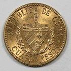 Photo numismatique  MONNAIES MONNAIES DU MONDE CUBA 1ère REPUBLIQUE (1902-1962) 4 pesos or.