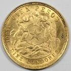 Photo numismatique  MONNAIES MONNAIES DU MONDE CHILI République (depuis 1821) 10 condores or.