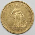 Photo numismatique  MONNAIES MONNAIES DU MONDE CHILI République (depuis 1821) 10 pesos or.