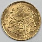 Photo numismatique  MONNAIES MONNAIES DU MONDE BELGIQUE ALBERT (1909-1934) 20 francs or.