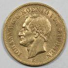 Photo numismatique  MONNAIES MONNAIES DU MONDE ALLEMAGNE SAXE, Jean V (1854-1873) 20 marks or.