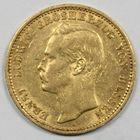 Photo numismatique  MONNAIES MONNAIES DU MONDE ALLEMAGNE HESSE, Ernst Ludwig (1892-1918) 20 marks or.