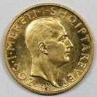 Photo numismatique  MONNAIES MONNAIES DU MONDE ALBANIE ZOG Ier (1925-1939) 20 francs or commémorant le mariage.