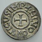Photo numismatique  MONNAIES CAROLINGIENS LOUIS LE PIEUX, empereur (janvier 814-20 juin 840)  Denier de Tours.