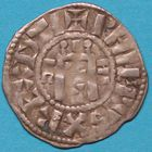 Photo numismatique  MONNAIES ROYALES FRANCAISES PHILIPPE I (1060-1108) Domaine royal Denier d'Orl�ans du Ier type.