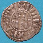 Photo numismatique  MONNAIES ROYALES FRANCAISES PHILIPPE Ier (4 août 1060-29 juillet 1108) Domaine royal Denier d'Orléans du Ier type.