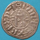 Photo numismatique  MONNAIES ROYALES FRANCAISES PHILIPPE I (1060-1108) Domaine royal Denier d'Orl�ans.
