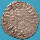 Photo numismatique  MONNAIES ROYALES FRANCAISES PHILIPPE Ier (4 août 1060-29 juillet 1108) Domaine royal Denier d'Orléans.