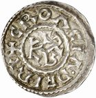 Photo numismatique  ARCHIVES VENTE 2010 -Amateur B 1 et B CHWARTZ 2 CAROLINGIENS CHARLES LE CHAUVE, roi (840-875) Monnayage au type GDR, après 864 62- Denier émis à Autun (Saône-et-Loire).
