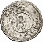 Photo numismatique  ARCHIVES VENTE 2010 -Amateur B 1 et B CHWARTZ 2 CAROLINGIENS LOTHAIRE II (954-986)  78- Denier de Chalon-sur-Saône (Saône-et-Loire).