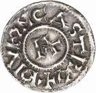 Photo numismatique  ARCHIVES VENTE 2010 -Amateur B 1 et B Chawartz 2 CAROLINGIENS RAOUL (13 juillet 923-janvier 936)  84- Denier de Dijon (Côte -d'Or).