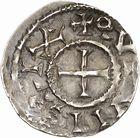 Photo numismatique  ARCHIVES VENTE 2010 -Amateur B 1 et B CHWARTZ 2 CAROLINGIENS RAOUL (13 juillet 923-janvier 936)  85- Denier de Dijon (Côte -d'Or).