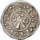 Photo numismatique  ARCHIVES VENTE 2010 -Amateur B 1 et B Chawartz 2 CAROLINGIENS LOUIS IV D'OUTREMER (936-954)  89- Obole de Mâcon (Saône-et-Loire).