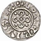 Photo numismatique  ARCHIVES VENTE 2010 -Amateur B 1 et B Chawartz 2 CAROLINGIENS LOTHAIRE II (954-986)  90- Denier de Mâcon (Saône-et-Loire).